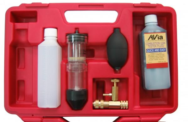 CO2 Lecktester - zwei Testkammern - mit Deckelanschluss
