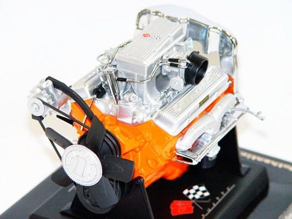 Modell-Motor V8 Corvette L84