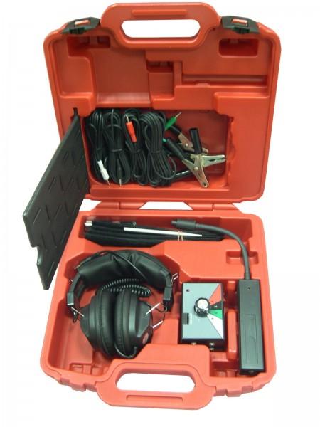 Elektro-Motorstethoskop mit Geräuschverstärker u. Mikrofonklemmen