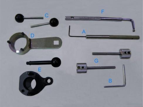 Motoreinstell - / Feststellwerkzeug VW, Audi, Seat und Skoda