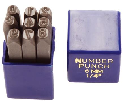 Einschlagzahlen 6 mm