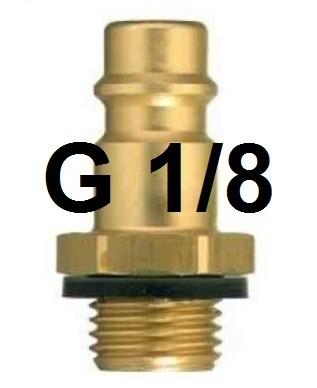 Druckluftanschluss G 1/8