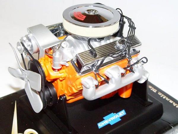 Modell-Motor V8 Chevrolet Small Block 350 C.I.