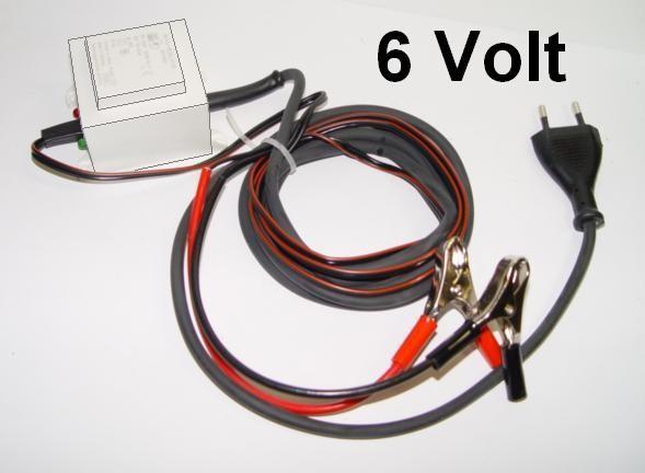 Batterieerhaltungsladegerät 6 Volt