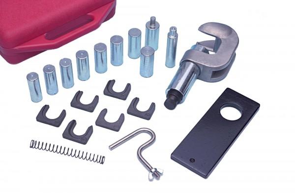 Werkzeugsatz für gepresste Kolbenbolzen