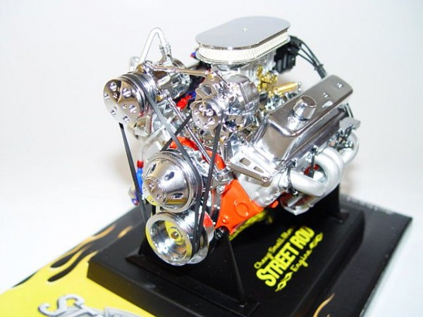 Modell-Motor V8 Street Rod Chevy Small Block