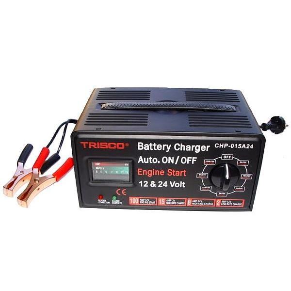 Batterieladegerät 12 u. 24 Volt