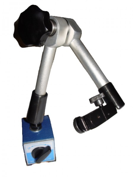 Magnet-Messstativ mechanisch - Höhe bis 430 mm