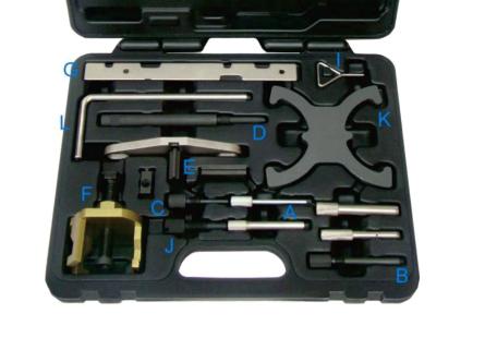 Motoreinstell - / Feststellwerkzeug FORD Benzin und Diesel