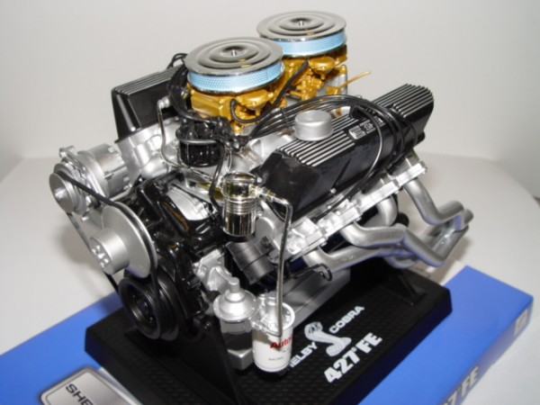 Modell-Motor V8 Shelby Cobra 427 FE