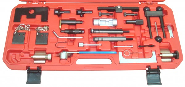 Motor Einstell- u. Arretierwerkzeug Satz 1 - VAG