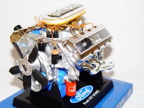 Modell-Motor V8 Ford 427 SOHC