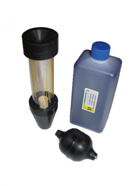 CO2 Lecktester - eine Testkammer
