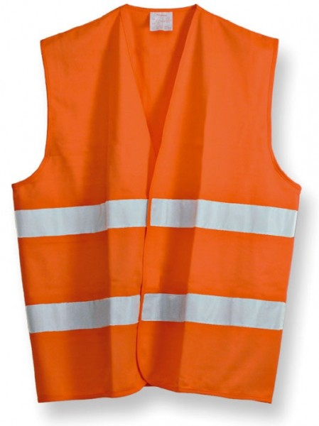 Warnweste orange-rot