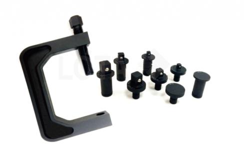 Handliche Werkstatt - Presse für Steckschlüsseleinsätze vielseitig einsetzbar