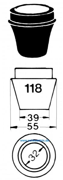 Adapter 118 --- für Synchrometer BK